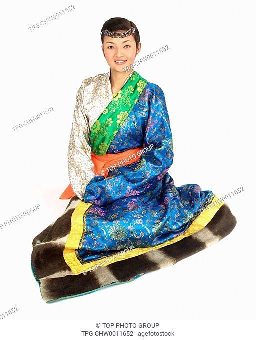 a woman of Tibetan Ethnicity