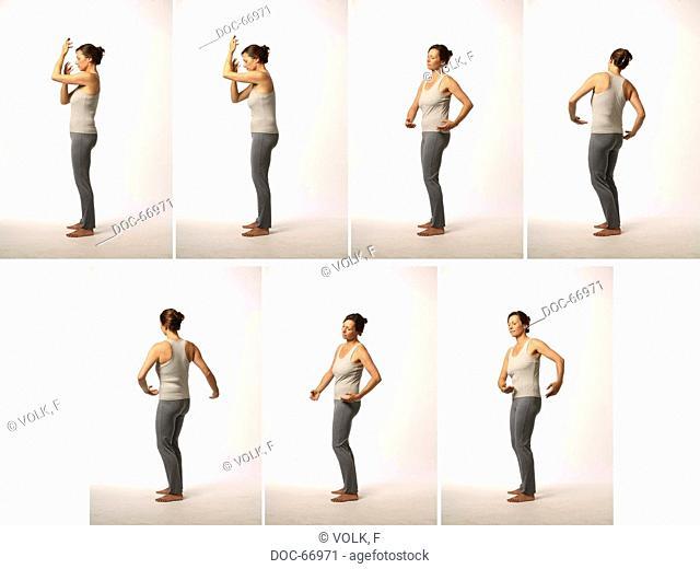 Chan Mi Qi Gong - inner harmony through an invigorated back -Ren Mai - Chong Mai - Du Mai und Dai Mai = special meridian plus turns in the spinal column