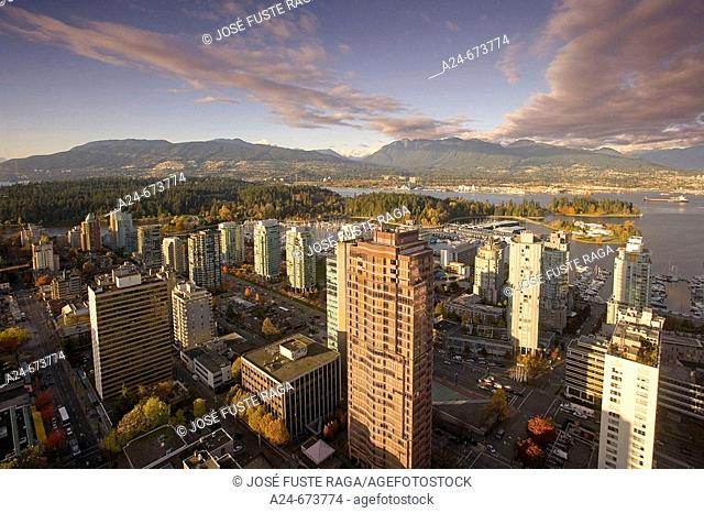 Nov. 2007. Canada. British Columbia. Vancouver City. Downtown