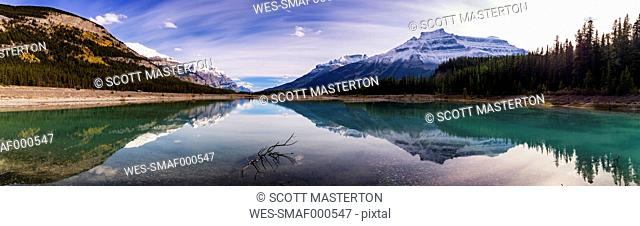 Canada, Alberty, Jasper National Park, Lake