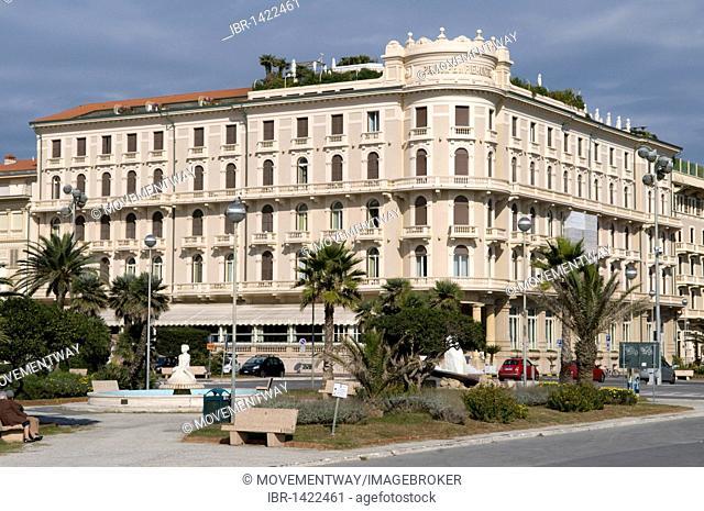 Hotel Principe di Piemonte, Viareggio, Versilia, Riviera, Tuscany, Italy, Europe