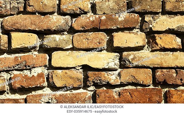 Brick wall backround