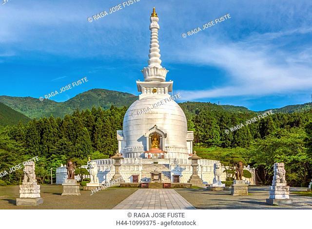 Japan, Gotemba City, Stupa