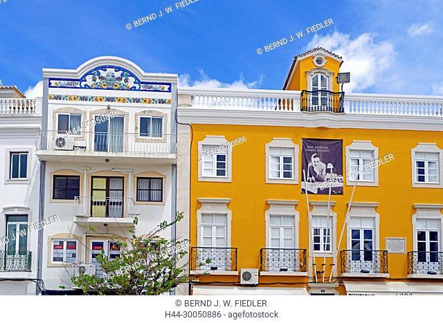 House facades, Loulé Portugal