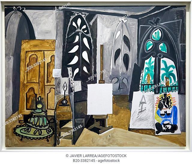 """""""L'Atelier de la Californie"""", 1956, Pablo Picasso, Picasso Museum, Paris, France, Europe"""