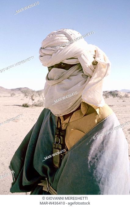 tuareg, tamanrasset, algeria, africa