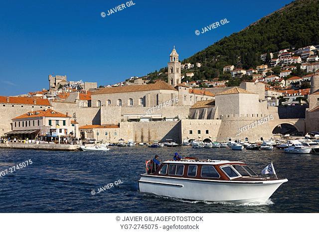 Port of Dubrovnik, Dalmatia, Croatia