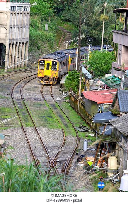 Taiwan, Taipei, Pingsi, Jingtong, Train