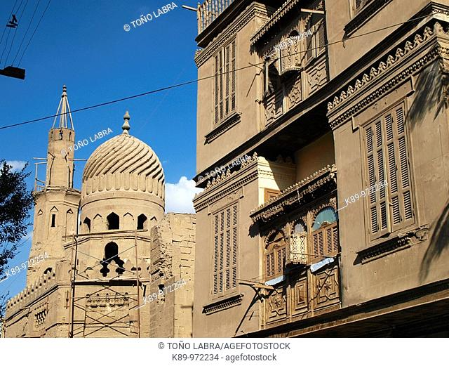 Mameluke mosque, Islamic Quarter, Cairo, Egypt