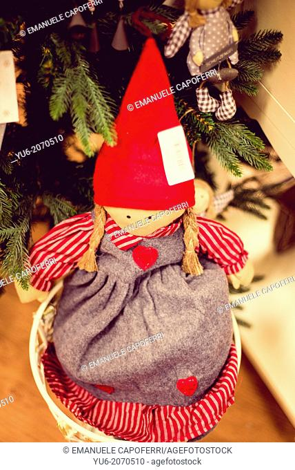 Doll for christmas tree