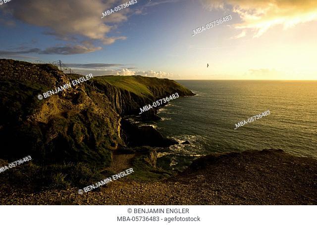 Sunset, Ireland, Kinsale, Old Head of Kinsale