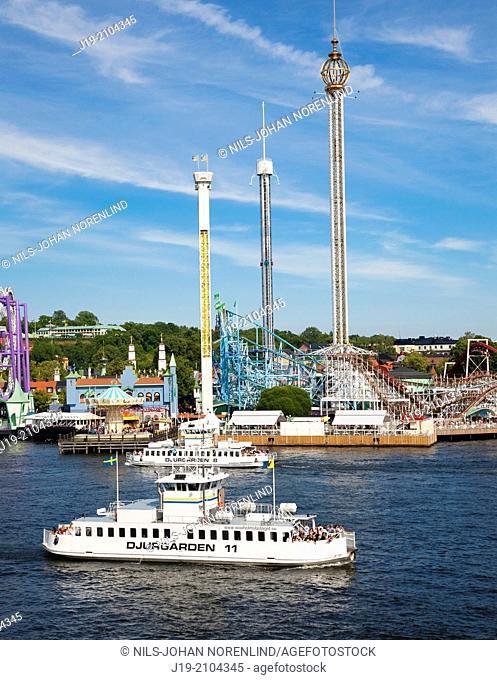 """""""Amusement Park """"""""""""""""Gröna Lund"""""""""""""""",Stockholm Sweden."""""""