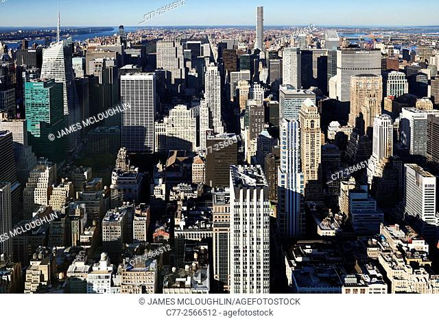 New York City, Manhattan, Skyline