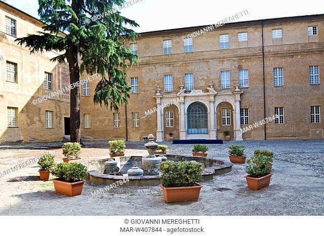palazzo degli estensi, palazzo ducale, sassuolo, emilia romagna, italia