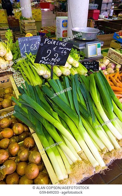 France Provence-Alpes-Côte d'Azur Cannes Old Town Le Suquet Market