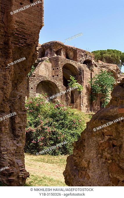 Terme di Severiana, Baths of Septimius Severianus, Rome, Italy
