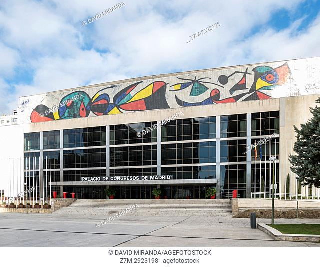 Palacio de Congresos. Madrid, Spain