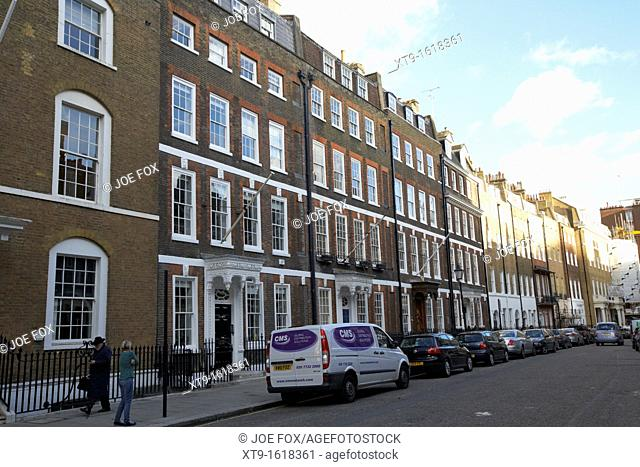 queen anne's gate in the city of westminster London England UK United kingdom