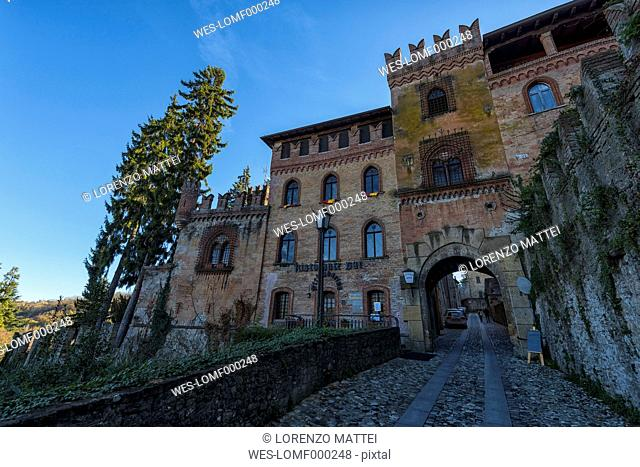 Italy, Emilia-Romagna, Castell'Arquato, Old town