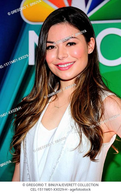 Miranda Cosgrove at arrivals for NBC Network Upfronts 2015, Radio City Music Hall, New York, NY May 11, 2015. Photo By: Gregorio T