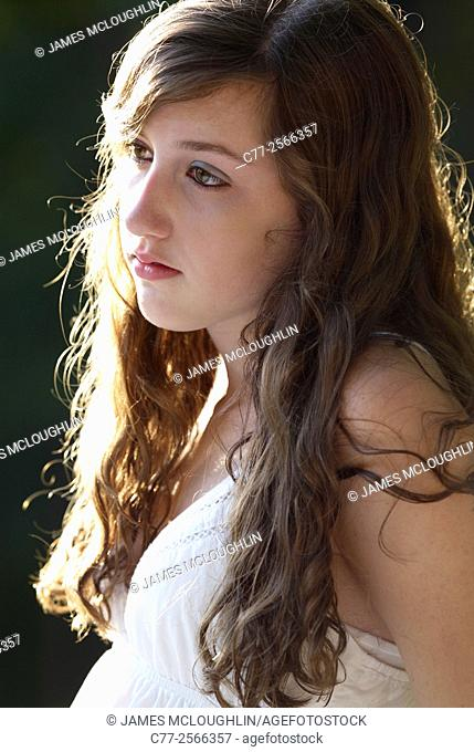 Girl, portrait, beauty
