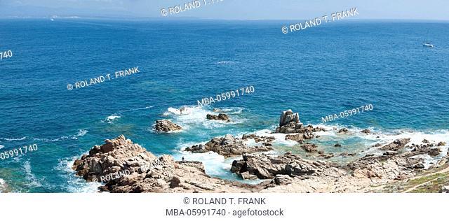 Italy, Sardinia, coast close Santa Teresa di Gallura