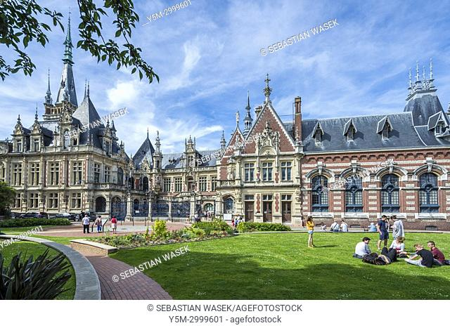 The Benedictine Palace, Fécamp, Seine-Maritime, Normandie, France, Europe