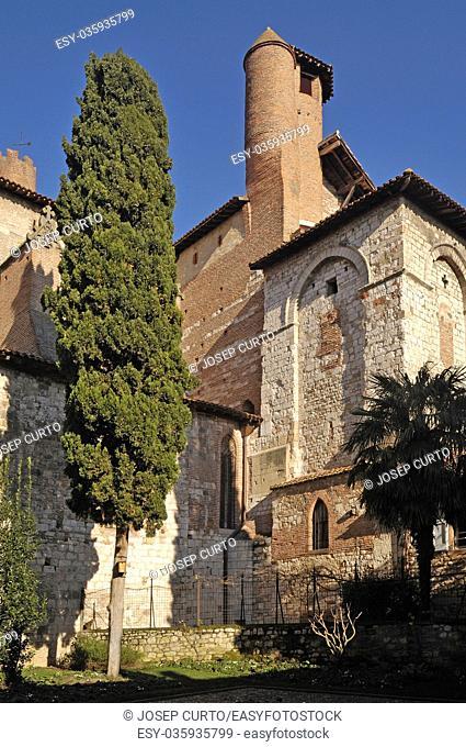 Churc of San Salvi Albi, Tarn,France