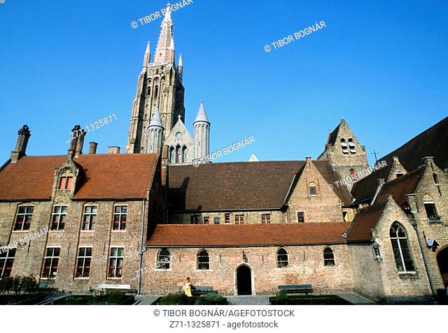 Belgium, Bruges, Church of Our Lady, Memling Museum