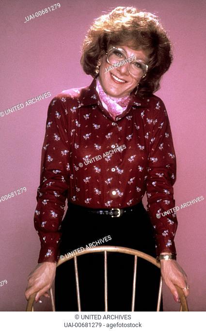 DUSTIN HOFFMAN as Michael Dorsey/Dorothy Michaels in Tootsie. Regie: Sydney Pollack / TOOTSIE USA 1982