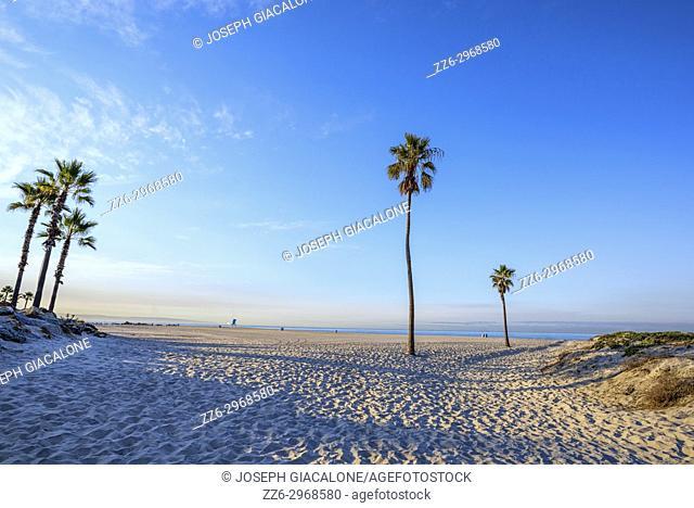 Coronado Central Beach. Coronado, California