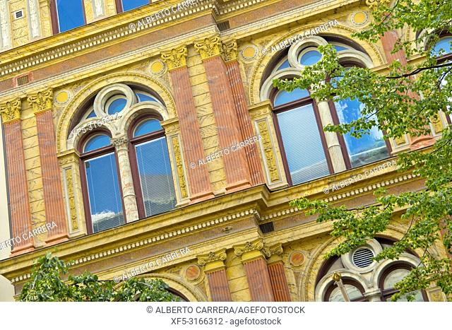 Traditional architecture, Stockholm, Sweden, Scandinavia, Europe