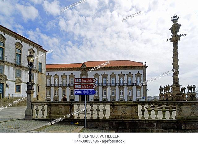 Palacio dos Bispos, Sé do Porto, Museum da Sé, Dreifaltigkeitssäule