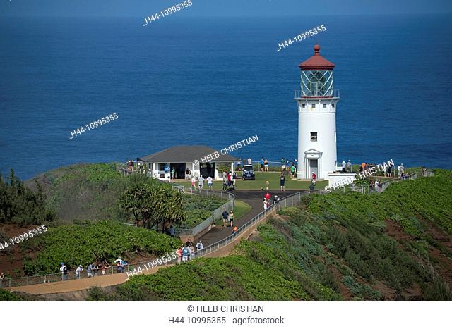 USA, Vereinigte Staaten, Amerika, South Pacific, Hawaii, Kauai, Kilauea Point, lighthouse