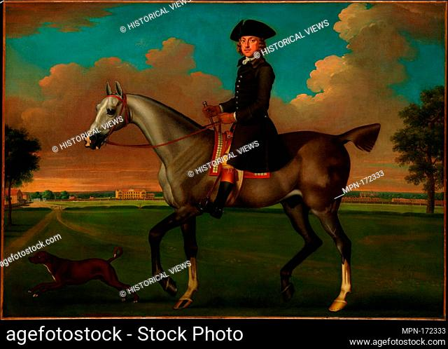 Portrait of a Horseman. Artist: James Seymour (British, London ca. 1702-1752 Southwark (London)); Medium: Oil on canvas; Dimensions: 37 x 51 5/8 in