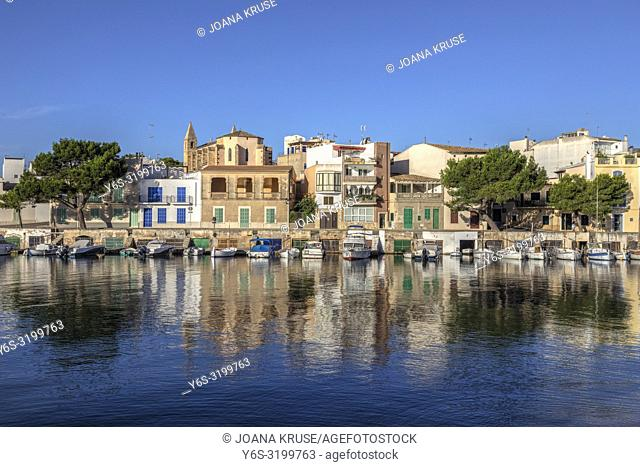 Portocolom, Felanitx, Mallorca, Balearic Islands, Spain, Europe