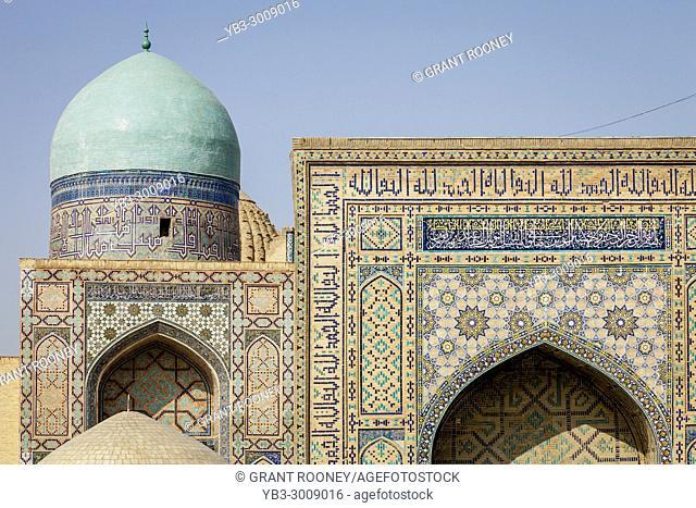 The Entrance To The Shah-i-Zinda Mausoleum Complex, Samarkand, Uzbekistan