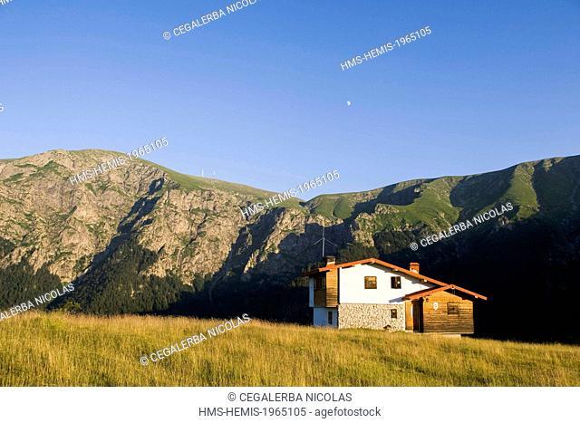 Bulgaria, Lovec region, Vidima, Stara Planina, Central Balkan National Park, Pleven Mountain Refuge (1504m)