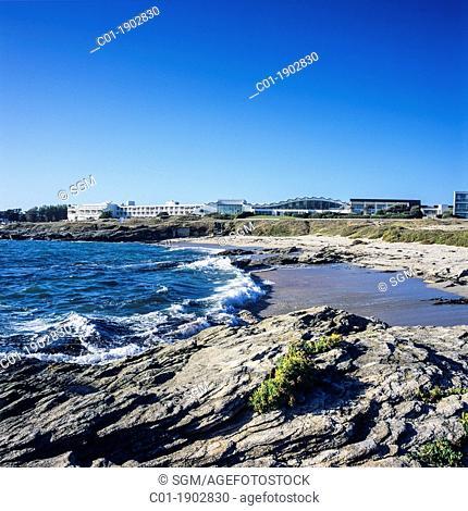 Coastline 'Quiberon' Brittany France