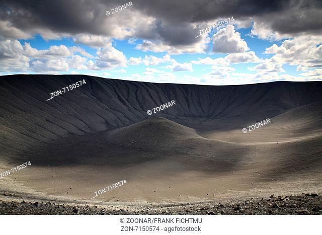 Hverfjall-Krater Myvatn Island