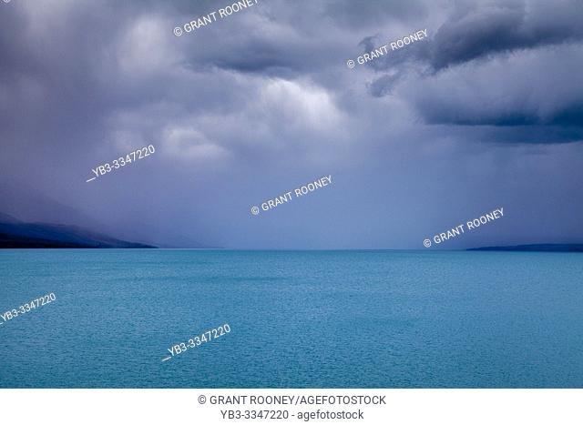 Lake Pukake, Canterbury Region, South Island, New Zealand
