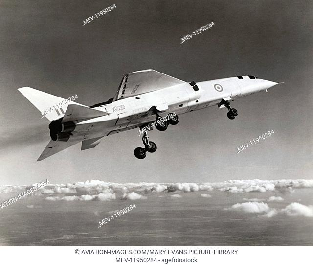The British Aircraft Corporation Tsr 2 Prototype Flying Taken During First Flight