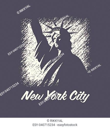 New york t-shirt and apparel vector design, print, typography, poster, emblem, stamp