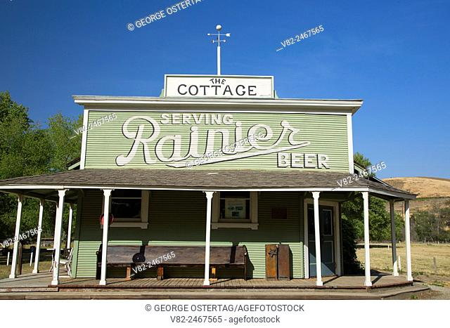 Cottage Bar, San Benito County Historical Park, California