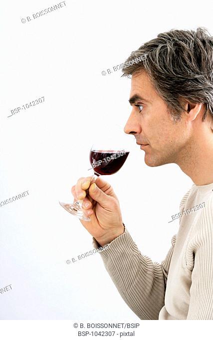 MAN DRINKING Model