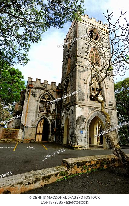 St  John's Parish Church Bridgetown Barbados Caribbean Cruise NCL