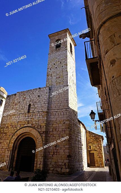 Sant Miquel Church. Montblanc, Tarragona, Catalonia, Spain, Europe