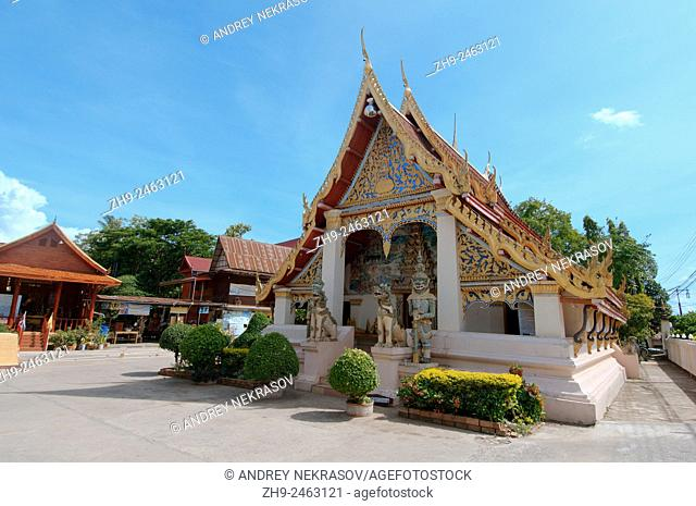 ancient temple Wat Si Khun Mueang, Chiang Khan, Loei province, Thailand