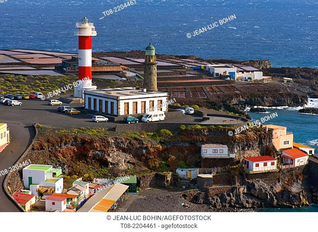 spain,canary islands, la palma : fuencaliente faro, lighthouse