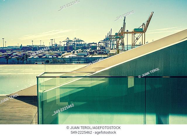 VELES E VENTS / AMERICA'S CUP BUILDING, VALENCIA, SPAIN, Architect DAVID CHIPPERFIELD, 2005
